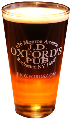 Beer on Tap at JD Oxfords
